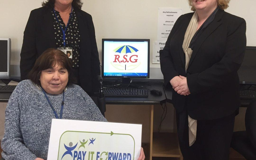 RECOSI Pay It Forward with Roscommon Disability Support Group