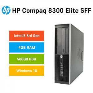 hp compaq 8300 sff 500gb